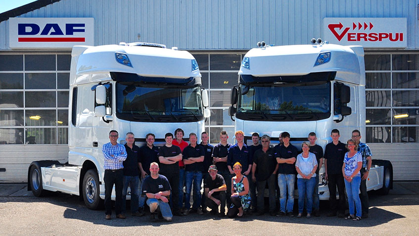Over ons verspui trucks for Garage daf massy