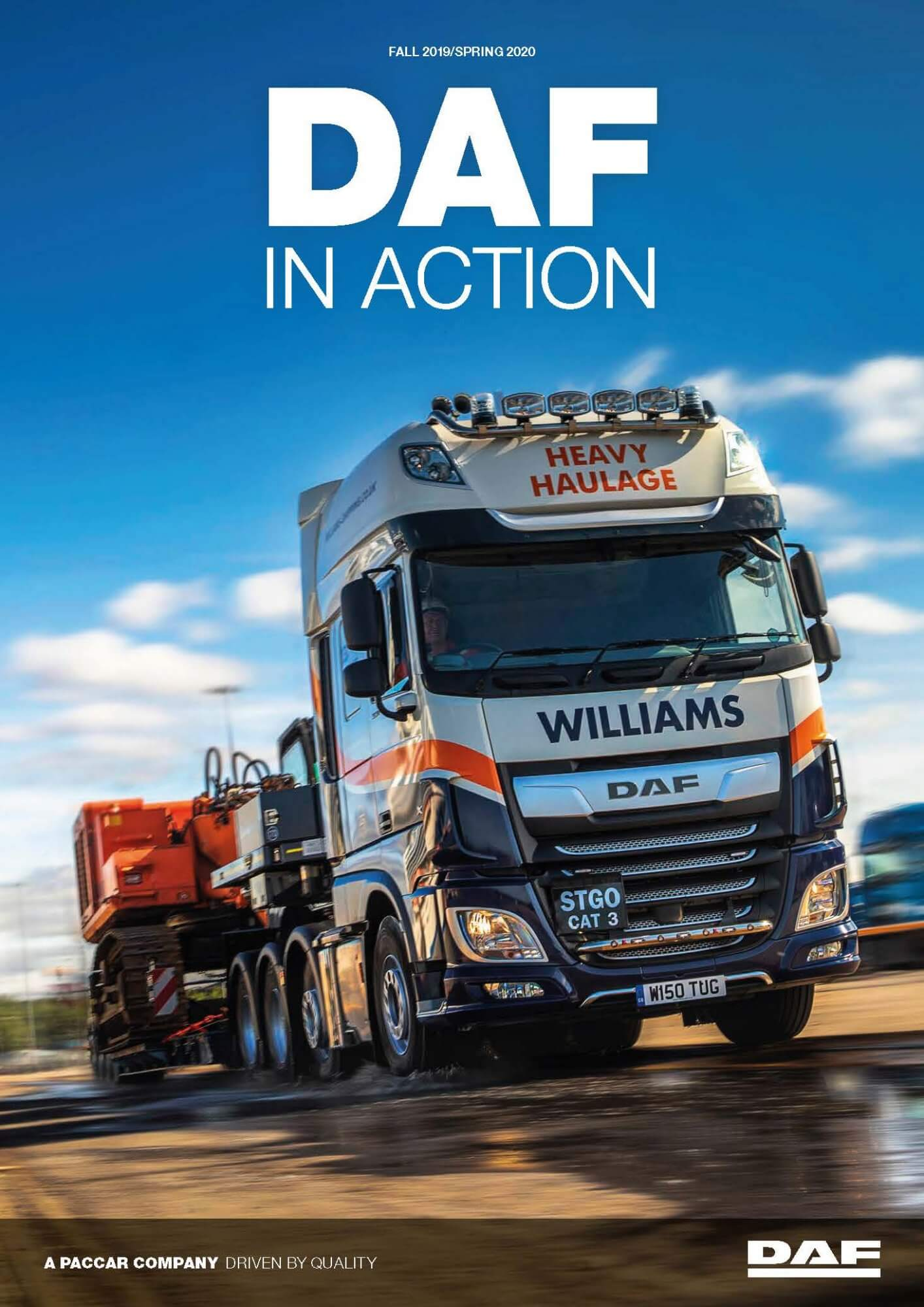 DAF in action magazine